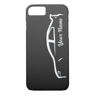 Add your name - Evolution X with Faux Carbon Fiber iPhone 7 Case