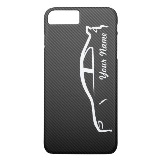 Add your name - Evolution X with Faux Carbon Fiber iPhone 7 Plus Case