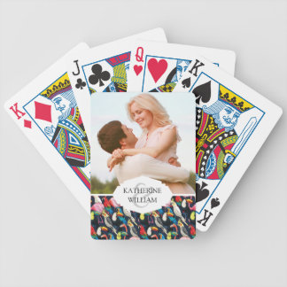 Add Your Name | Exotic birds Bicycle Playing Cards
