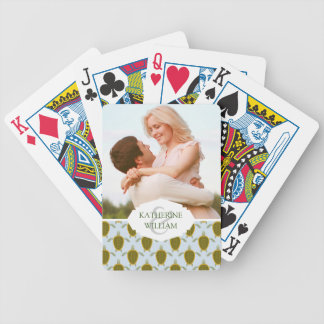Add Your Name | Flock Of Sea Turtles Pattern Bicycle Playing Cards