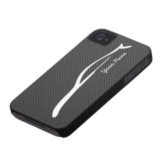 Add your name - G35 Coupe White Silhouette iPhone 4 Covers