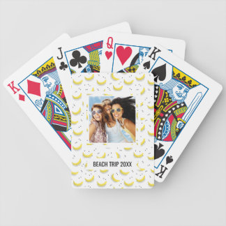 Add Your Name | Geometric Bananas Bicycle Playing Cards