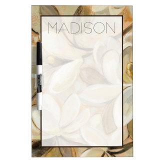Add Your Name   Magnolia Simplicity Cream Dry Erase Board
