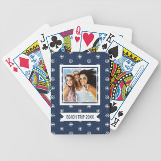 Add Your Name | Maritime Tool Pattern Bicycle Playing Cards