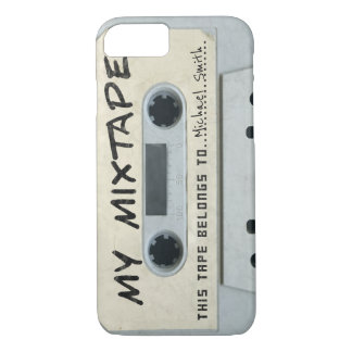 Add your name mixtape cassette iphone 7 case