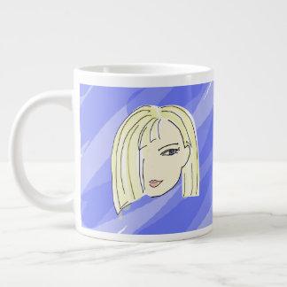 Add Your Name On Good Morning-Mug Giant Coffee Mug