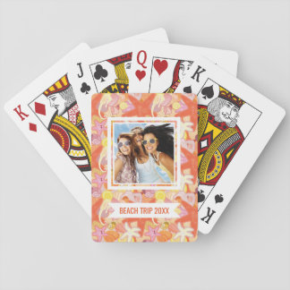 Add Your Name   Pastel Sea Creatures Poker Deck