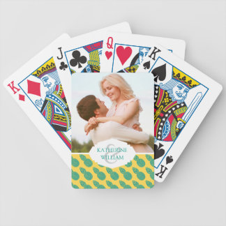 Add Your Name | Pineapple Pattern Poker Deck