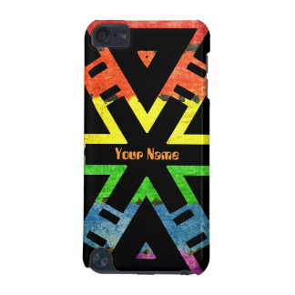 Add your Name  Rainbow X iPod Touch 5G Covers