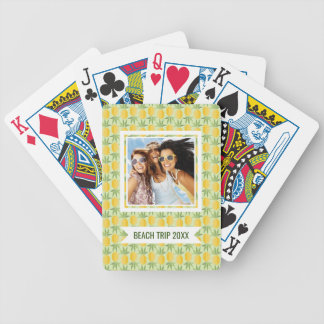 Add Your Name | Retro Pineapples Bicycle Playing Cards