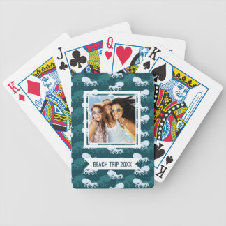 Add Your Name | Rows Of Octopus Pattern Bicycle Playing Cards