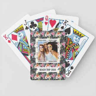 Add Your Name | Tropical Drinks With Animals Bicycle Playing Cards