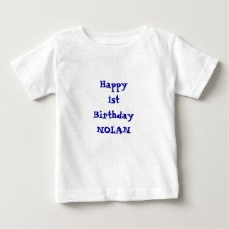 Add your namePersonalized Happy Birthday shirt