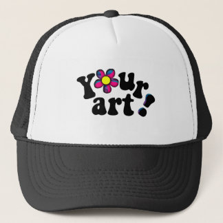 Add Your OWN Artwork, Photo or Funny Saying! Trucker Hat
