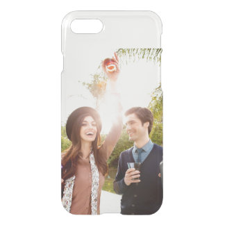 Add your own engagement save the date photo clear iPhone 7 case