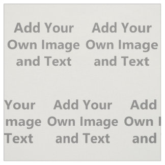 Add Your Own Image And Text Fabric