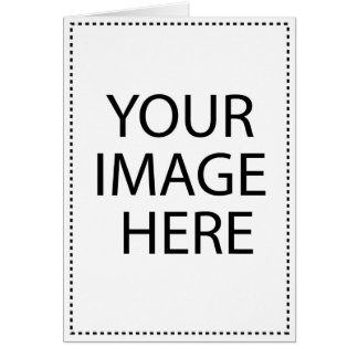 Add Your Own Image and Text Greeting Card