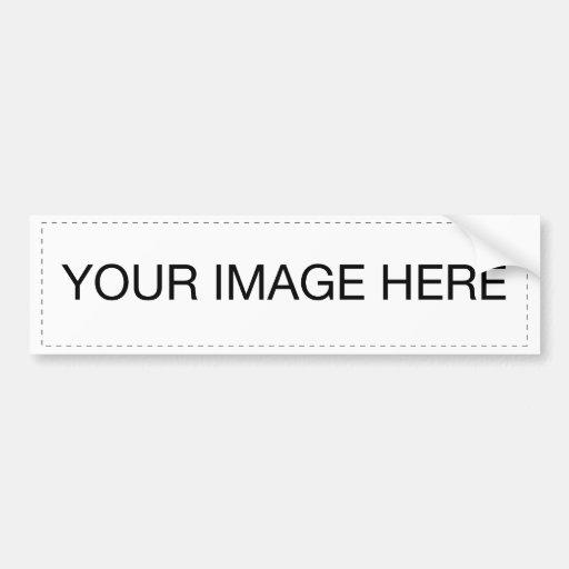 Add Your Own Image Bumper Sticker