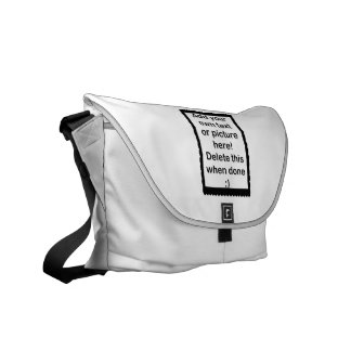 Add Your Own logo Commuter Bags