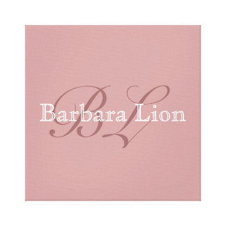 add your own name canvas prints