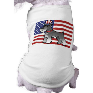 Add Your Own Pet and Flag Sleeveless Dog Shirt