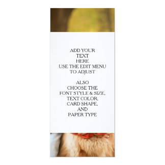 Add Your Own Photo Custom Personalized 10 Cm X 24 Cm Invitation Card