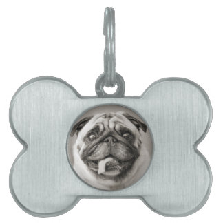 Add Your Own Photo | Customizable Dog Bone Tag