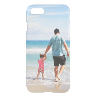 Add your own photo instagram Father's Day clear iPhone 7 Case