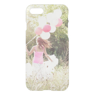Add your own photo instagram kids custom clear iPhone 7 case