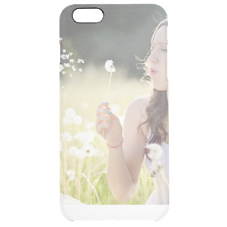 Add your own photo instagram upload custom clear clear iPhone 6 plus case