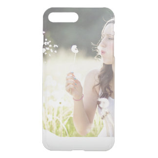 Add your own photo instagram upload custom clear iPhone 7 plus case