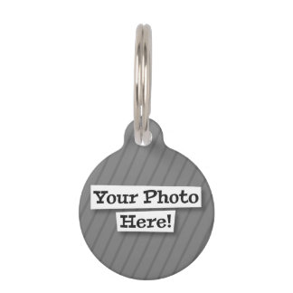 Add Your Own Photo & Pattern Pet Tags