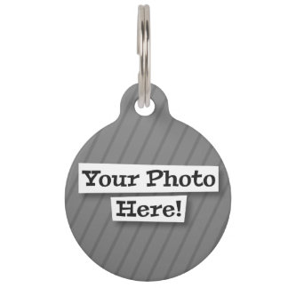 Add Your Own Photo Pet Tags