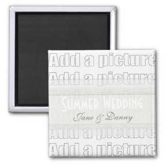 Add your own picture Wedding Magnet