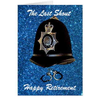 ADD YOUR OWN STATION POLICE RETIREMENT CARD