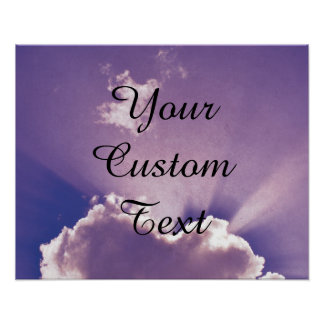 'Add your own text' Custom personalized Poster