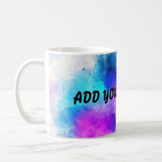 Add Your Own Text Galaxy Coffee Mug