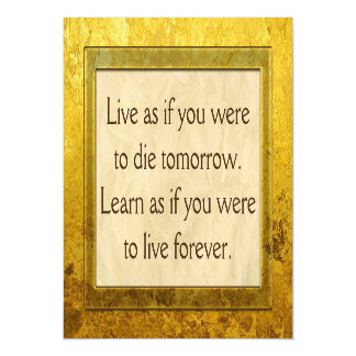 Add your own Texts, Quotes, Sayings and Wisdoms Magnetic Invitations