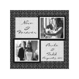 Add Your Own Wedding Photo Wrapped Canvas Stretched Canvas Print
