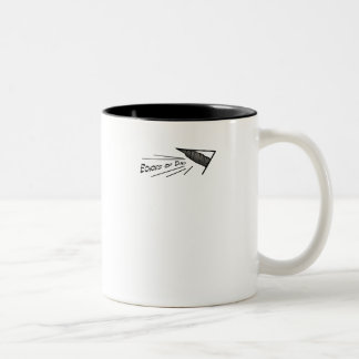 Add your own words! Two-Tone coffee mug