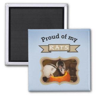 Add Your Pet Rats Photo Rat Magnet