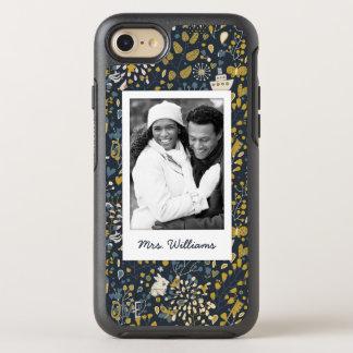 Add Your Photo | Cute Unicorn Sailboat Pattern OtterBox Symmetry iPhone 8/7 Case