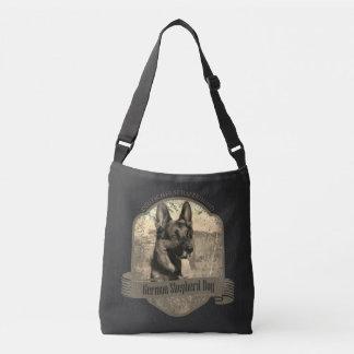 Add your photo - German Shepherd Dog - GSD Crossbody Bag