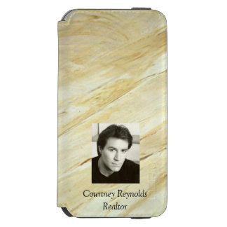 Add Your Photo Old World Marble Incipio Watson™ iPhone 6 Wallet Case