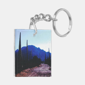 add your photo route 66 (double-sided) Keychain