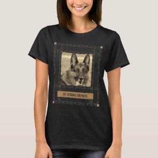 Add your photo & text -German Shepherd Dog - GSD T-Shirt