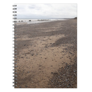 Add your text - Ainsdale Beach in Southport Notebook