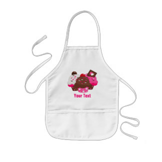 Add Your Text Kids Apron