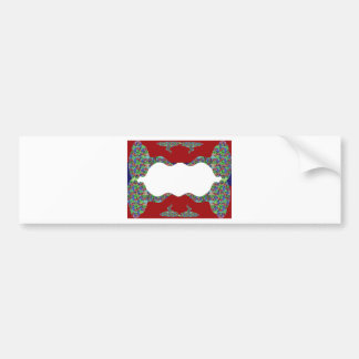 Add your text - Oriental Kiss my Lips Design Bumper Sticker