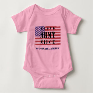 Add Your Uncle's Name Proud Army Niece Shirt